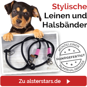 Hundeleinen und Hundehalsbänder von Alsterstars.de